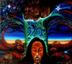 Rangi and Papa by Arthur Thatcher (Polynesien) Himmel (Rangi) und Erde (Papa) Frank Morrison, Maori Legends, National Geographic Photography, Sculpture Metal, Nz Art, Prophetic Art, Maori Art, Kiwiana, Gods And Goddesses