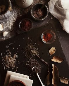 Spices Prop Styling, Cinnamon Sticks, Spices, Drinks, Food, Style, Food Design, Drinking, Swag