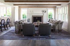 furniture layout - Cliff Road Area - Nantucket - beach-style - Kitchen - Boston - Jonathan Raith Inc.