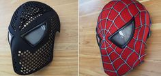 3D Spiderman Face Shell. Save some $$