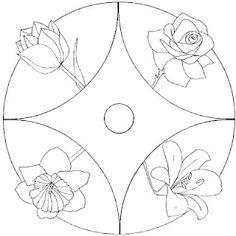 Mandala fleurs #mandala #mandalas #coloriage