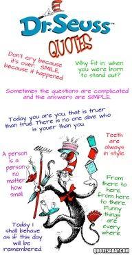 Dr. Seuss |  #inspiration #quotes