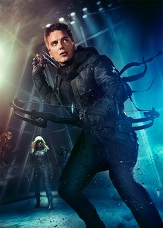 ARROW: Merlyn Featured in New Superhero Fight Club Poster!