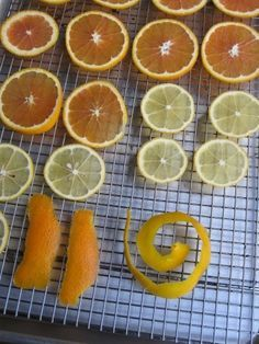 How to dry citrus in the oven (also blog on canning/preserving)