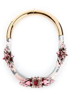 Shop Shourouk 'Mamba' necklace in Elite from the world's best independent boutiques at farfetch.com. Shop 300 boutiques at one address.