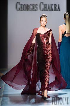 Georges Chakra Automne-hiver 2014-2015 - Haute couture - http://fr.flip-zone.com/georges-chakra-4814