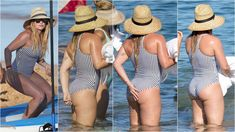 For beautiful female celebrities. Hilary Duff Bikini, Haylie Duff, Grace Slick, Beautiful Female Celebrities, Nice Asses, Beauty Full Girl, The Duff, Bikinis, Swimwear