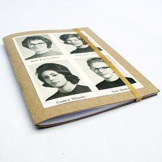 Pequeño libro Anuario Vintage Ladies por robayre en Etsy