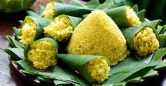 Nasi kuning (yellow rice) « Asian Recipes « All Tasty Recipes Coconut Chicken, Canned Coconut Milk, Coconut Cream, Yellow Rice Recipes, Spicy Dishes, Asian Recipes, Ethnic Recipes, Tasty, Yummy Food