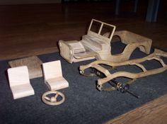 Resultado de imagen de wooden jeep plans