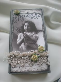 A vintage box by Iren S. Mikalsen. Could easily be recreated using vintage prints and Mod Podge!