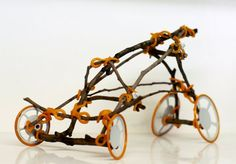 TWIGO by shlomi eiger is a construction toy based on connectors which enables to combine twigs and sticks to each other and adding them elements such as wheels, wings, rotors and more.