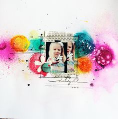 #papercraft #scrapbook #layout  Welcome to Eb's Space: About time...
