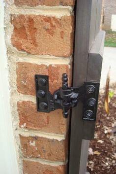 """Acme"" Cast Iron Mortise Shutter Hinges - 3 x 2 Shutters Brick House, Window Shutters Exterior, Wood Shutters, Shutter Hinges, Shutter Hardware, Shutter Dogs, Interior Door Hinges, Painted Brick Exteriors, Painting Shutters"