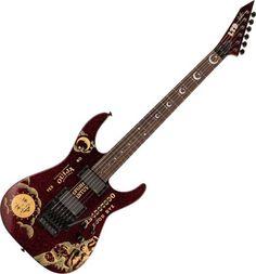 ESP LTD KH-Ouija Kirk Hammett Limited Edition Guitar in Red Sparkle -