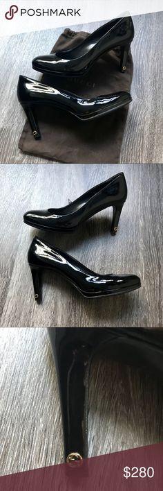 f3998fe628cf Authentic Gucci pumps 39 Black patent Gucci heels. Really comfy due to toe  platform.