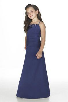 High Neck Spaghetti Beaded Royal Blue Junior Bridesmaid Dress Sale,Buy Embroidered beaded Strapless A Line Matte Satin Junior Bridesmaids Gown online - Prom Dresses 2012_Plus Size Prom Dress_Plus Size Wedding Dress-TesBuy.com