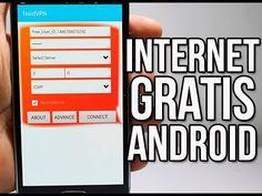 Como Tener INTERNET GRATIS Para Cualquier Android 2016 - YouTube