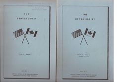 The Genealogist Journal American Canadian Genealogical Society of New Hampshire