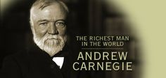 The richest man in the history of the world, Andrew Carnegie, wanted you to be rich. He arranged for you to get a book that explained how to be successful. Click on the image to get your copy of his report.
