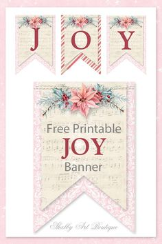 baby shower banner Pink Floral paper garland floral bunting PRINTABLE Classy Flag bunting INSTANT download bridal shower decorations