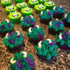Monsters Inc. (Sully) Cupcakes