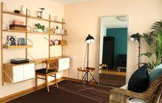Svalnäs Ikea, Ikea Hack, Ikea Office, Kids Bedroom, Modern Farmhouse, Cribs, Mid-century Modern, Shelves, House Design