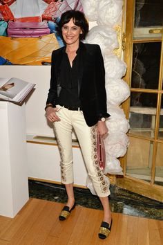 Ines de la Fressange Photo - Roger Vivier and Rizzoli NYC Book Launch