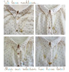 Shop our necklace collection here http://custommade.bigcartel.com/category/necklaces