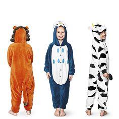 Børneudklædning -  Dyrekamuflage til menneskeunger.  Kr. 200,- #tigerjul
