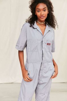 Vintage Dickies 90's Grey Coverall