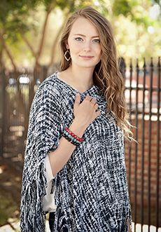 Homecoming Trunk Shows - Erin Tweed Poncho - Black - New Arrival