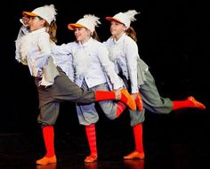 Scuttle and gulls. Hats and socks, and look of feathers/wings without too many feathers