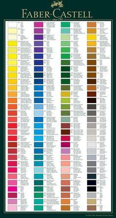 Faber Castell   Albrecht Durer Singles   Artistsu0027 Watercolour Pencils 666  To 726