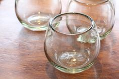 recycled glass tumblers, everyday drink ware, on shopnectar.com