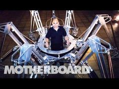 Stelarc is a new media artist who believes that the human body is obsolete. Spider Robot, Melbourne Suburbs, Cool New Gadgets, New Technology Gadgets, Future Tech, New Media, Human Body, Futuristic, The Man
