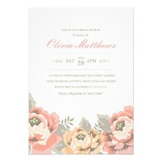 DealsVintage Floral Bridal Shower Invitationonline after you search a lot for where to buy