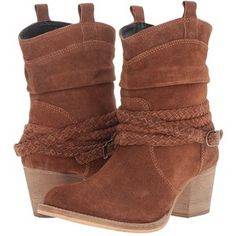 Dingo Twisted Sister (Rust) Women's Dress Pull-on Boots