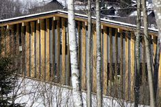 Image 7 of 22 from gallery of Mont-Blanc Base Camp  / Kengo Kuma & Associates. Photograph by Michel Denancé