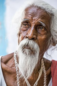 Old wise man by Réhahn Photography - Tribes - Tribus - World - Monde - Humans - Humains - Faces - Visages