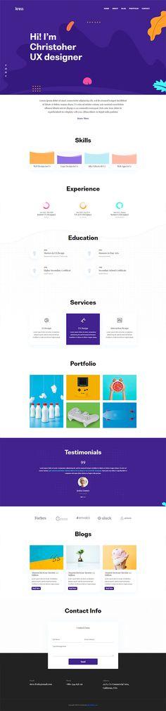 Free Creative Portfolio PSD Template Free Website Templates, Html Templates, Free Portfolio Template, Cleaning Business Cards, Creative Portfolio, Free Photoshop, Instagram Story Template, Mockup, Design Inspiration