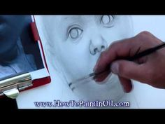 How to paint realistic faces in oil part 2