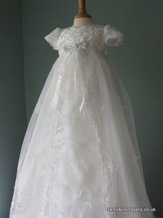 NEW Baby Girls Waterfall Christening Gown