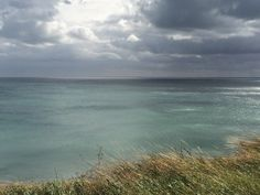 Flamborough Head, East Yorkshire, looking out on the North Sea. I loved this shot, and took it with my phone!
