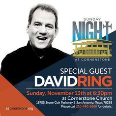 Evangelist And Motivational Speaker David Ring