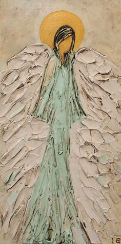 angel Angel Artwork, Angel Drawing, Angel Pictures, Christian Art, Religious Art, Art Techniques, Ikon, Painting Inspiration, Painting & Drawing