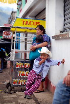 All Saints Day, Todos Santos, Guatemala, Horse races, cowboys, children