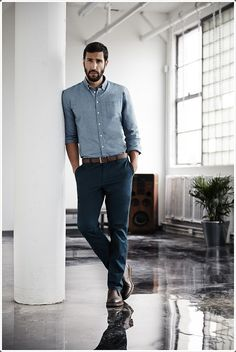 Chinos are the perfect office attire.
