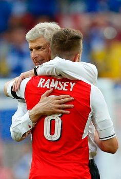He's won it for a record seventh time, but it seems like Wenger enjoyed this one the most