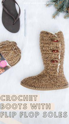 Crochet Boot Cuffs, Diy Crochet And Knitting, Crochet Boots, Crochet Slippers, Crochet Crafts, Crochet Clothes, Crochet Projects, Crochet Shoes Pattern, Crochet Blanket Patterns